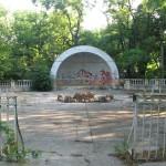Танцплощадка на территории ДОФа.