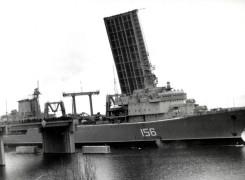 Возвращение в завод для ремонта после столкновения. 1986 год.