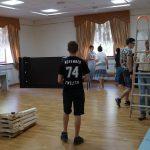 Подготовка зала краеведческого музея к выставке