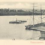 Ингул. Дореволюционная открытка. Сейчас акватория набережной Флотского бульвара.