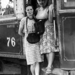 1961 год. Шишко Нина кондуктор. Суручина Тамара кондуктор.