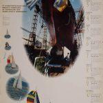 Календарь завода им. 61 Коммунара на 1995 год.