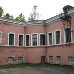 Дворик дома на углу Фалеевской и Никольской