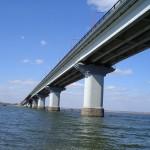 Железобетонные пролеты Варваровского моста.