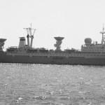 Главные размерения судна: наибольшая длина 181,9м, наибольшая ширина 25,0 м, высота борта до верхней палубы 13,2 м.