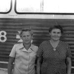 Антонина Алексеевна Гришина, Работала вагоновожатой на №6, 7 и 1. 70-80-е годы. Фото 3.