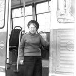 Антонина Алексеевна Гришина, Работала вагоновожатой на №6, 7 и 1. 70-80-е годы. Фото 6.