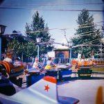 Атракцион Веселый поезд в городке Сказка в Николаеве