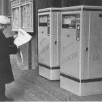 Автоматы для продажи газет