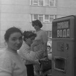Автоматы для продажи газировки возле завода Дормашина