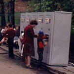 Автоматы для продажи газводы.