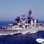 """Большой противолодочный корабль проекта 1134Б """"Ташкент""""."""