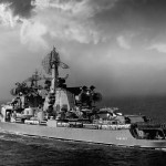 БПК Ташкент в море