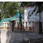 Балясины перил лестницы в Николаевском яхт клубе