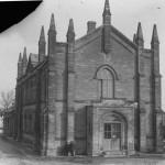 Бывшее Девичье училище. Вид со двора на восток. 1930 год.