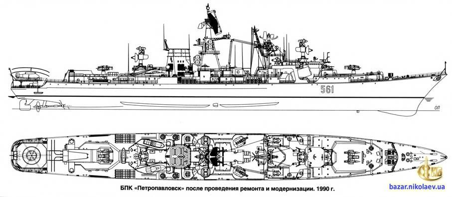Чертеж БПК Петропавловск