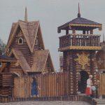 Деревянная крепость в Николаевской Сказке
