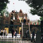 Детский городок Сказка вид на детскую площадку
