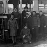 Группа водителей. 1955 год.