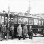 Из архива ГАНО один из первых трамваев в Николаеве