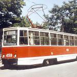 КТМ5М3 на конечной в Яхтклубе