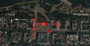 Современная карта Николаева