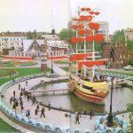 Корабль в городке Сказка