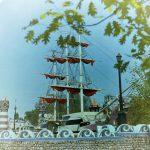 Кораблик в городке Сказка