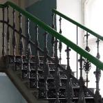 Лестница ЖД техникума Балясины второй лестницы
