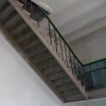 Лестница ЖД техникума  Часть второй лестницы ведущая на чердак