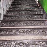 Лестница ЖД техникума Рисунок подступеней второй лестницы