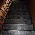 Лестница в здании на Никольской. правое крыло. Вид сверху.