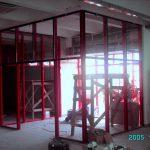 """Магазин """"Фоксмарт"""" во время реконструкции. 2005 год"""