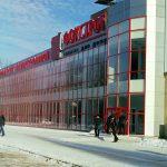 Магазин Фокстрот на проспекте Мира после реконструкции из магазина Океан. Февраль 2005 года