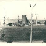Насыпь Варваровского моста со стороны города.