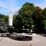 Памятник Святому Николаю в Каштановом сквере 2014 год
