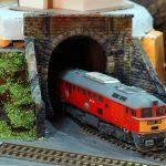 Первый заезд в тоннель