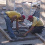 Подготовка под заливку бетона