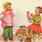 Поздравительная открытка с 8 марта. 1956 год 1