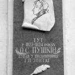 Пушкин был в гостях у писательницы Зонтаг.