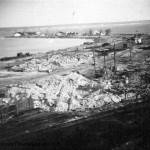 Вид на Каботажную гавань, ЧСЗ, 1944 г.