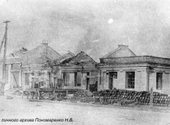 Разрушенный ЧСЗ. Апрель 1944. Фото 004