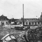 Разрушенный ЧСЗ. Апрель 1944. Фото 047