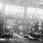 Разрушенный ЧСЗ. Апрель 1944. Фото 059
