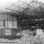 Разрушенный ЧСЗ. Апрель 1944. Фото 072