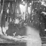 Разрушенный ЧСЗ. Апрель 1944. Фото 089