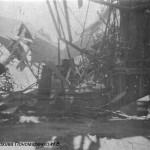 Разрушенный ЧСЗ. Апрель 1944. Фото 091