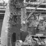 Разрушенный ЧСЗ. Апрель 1944. Фото 105