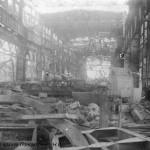 Разрушенный ЧСЗ. Апрель 1944. Фото 117