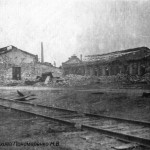Разрушенный ЧСЗ. Апрель 1944. Фото 123